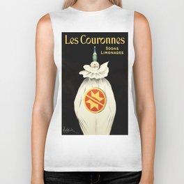 Vintage poster - Les Couronnes Biker Tank