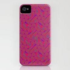 Patchwork iPhone (4, 4s) Slim Case