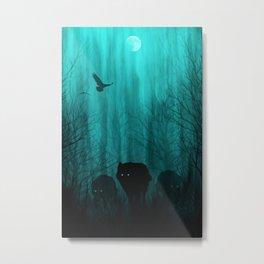 Wolf Pass Metal Print