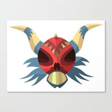 PriMoNs Mask - 001 Canvas Print