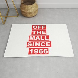 Off the mall since 1966 Rug
