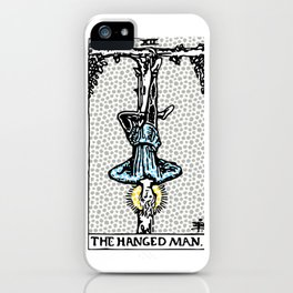 12 The Hanged Man iPhone Case