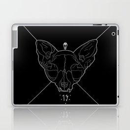 Black Lucky 13 Laptop & iPad Skin