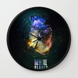 We're all slaves. Wall Clock