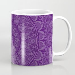 Plum Mandala 5 Coffee Mug