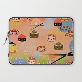 kawai sushi for sumo wrestles Laptop Sleeve