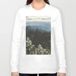 Smoky Mountains - Nature Photography Long Sleeve T-shirt