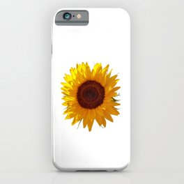 Sunflower Bloom iPhone Case