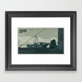 B. R. Framed Art Print