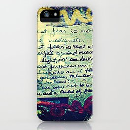 The Fire Next Time iPhone Case