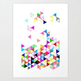Falling Into Place Art Print