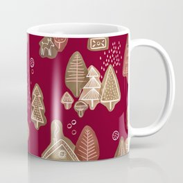 Hansel and Gretel Fairy Tale Gingerbread Pattern Coffee Mug