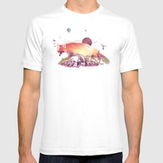 Woodlands Fox SMALL White Mens Fitted Tee