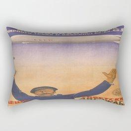 Vintage poster - CCCP Rectangular Pillow