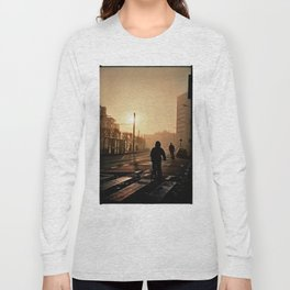 Foggy City Long Sleeve T-shirt