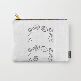 San Valentine's Day for Him Carry-All Pouch