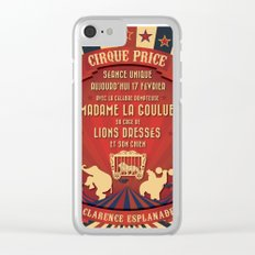 CIRQUE PRICE ROUGE Clear iPhone Case