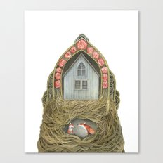 Sweet Home II // Polanshek Canvas Print