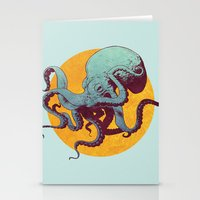 octopus Stationery Cards featuring Octopus by Calavera
