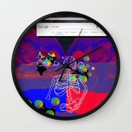 Calabi- Yau Wall Clock