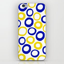Calamari Hoops 01 iPhone Skin