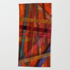 Abstract #466 Beach Towel