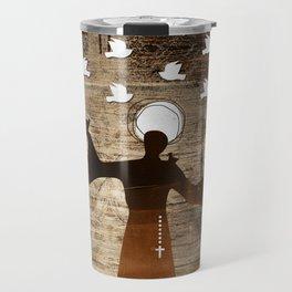 Saint Francis of Assisi Travel Mug