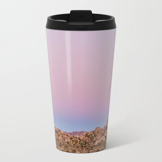Desert Sunset Metal Travel Mug
