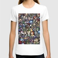 majora T-shirts featuring The Legend of Zelda by Sandra Ink