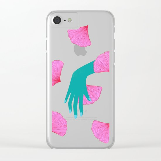 tired of indecision Clear iPhone Case