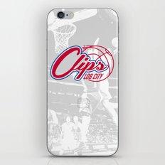 Clips Lob City iPhone & iPod Skin