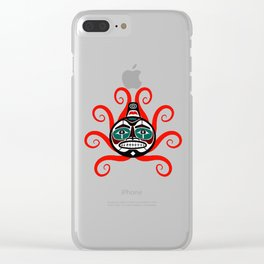 TENTACLES MYSTIC Clear iPhone Case