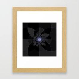 Tron Kaleidoscope Framed Art Print