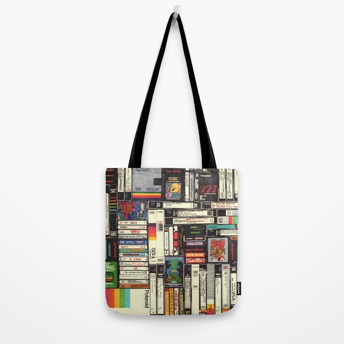 Cassettes, VHS & Games Tote Bag