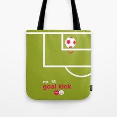 Goal Kick (No.16) Tote Bag
