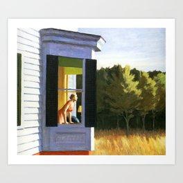 Cape Cod Morning by Edward Hopper Art Print
