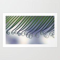 Cycas - leaf born 2664 Art Print