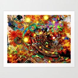The last universe Art Print