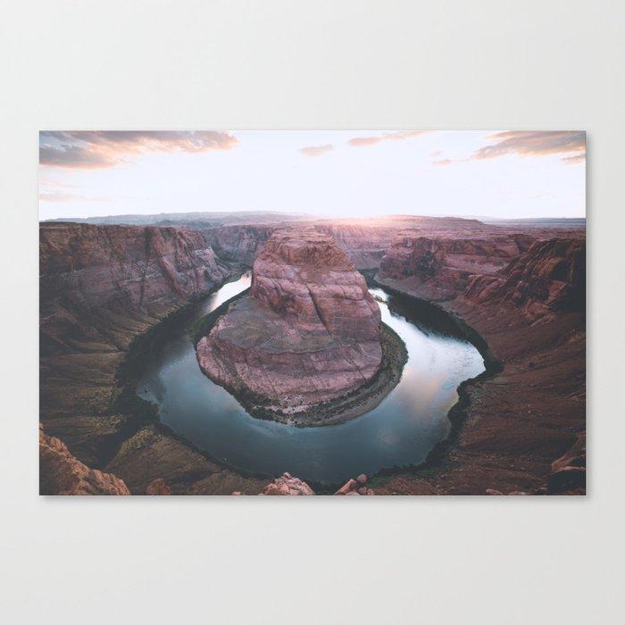 Canyon of dreams #landscape Canvas Print