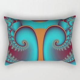 fractalized tree -03- Rectangular Pillow