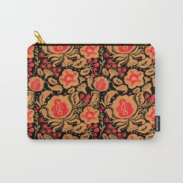 Khokhloma Kulture Pattern Carry-All Pouch