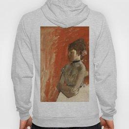 """Edgar Degas """"Ballet dancer with arms crossed"""" Hoody"""