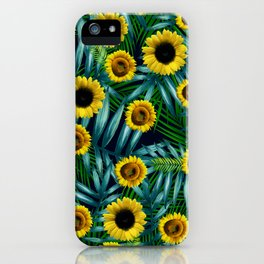Sunflower Party #2 iPhone Case