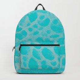 Pattern SPOTS Blue Backpack