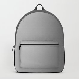 Gray to Black Vertical Linear Gradient Backpack