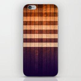 Wood Pattern iPhone Skin