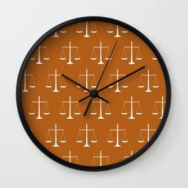 balance pattern Wall Clock