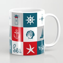 Nautical design 4 Coffee Mug