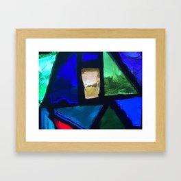 A Perspective Framed Art Print