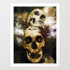 Dawn of the Day of the Dead Art Print